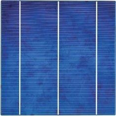 Фотоэлектрические ячейки из поликристаллического