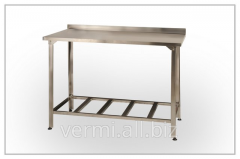 Table production SPb 800х600х850 on pipe, colored,
