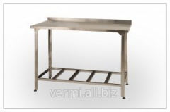Table SPP, production with additional shelf,