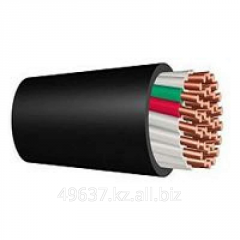 Cable control with copper and aluminum veins with