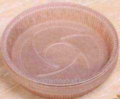 Бумажная форма для выпечки пирогов и пиццы