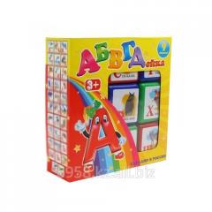 Кубики в наборе АБВГДейка из 9шт.