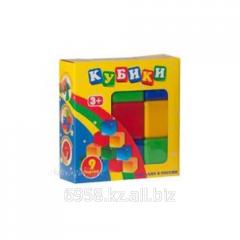 Кубики в наборе из 9шт.