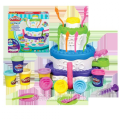 Набор игровой Праздничный торт 5 баночек в