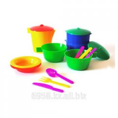 Посуда детская в наборе Ульянка на 2персоны