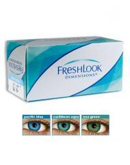 CIBA Vision FreshLook Dimensions Цветные