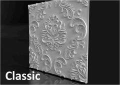 Гипсовые стеновые 3-Д панели