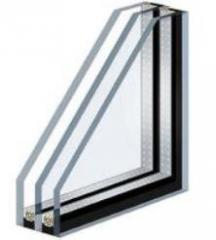Double-glazed windows glued energy saving ALPROF