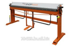 The Tapco Shopmax 2500/1,0 machine with a roller