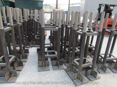 Anchor bolts base.