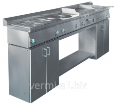 The gastronomic line for small kitchens the