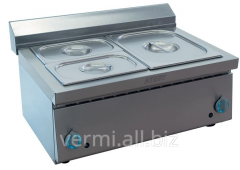 The food warmer is two-section