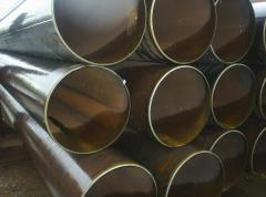 Pipes seamless for oil processing