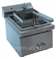 The deep fryer is single-section