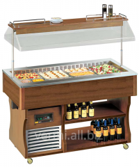 Buffet the dark nut cooled by island Apach ABR4