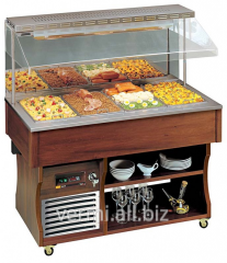 Buffet the cooled wall Apach ABR6 Murale dark nut
