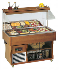 Buffet the cooled wall Apach ABR4 Murale dark nut