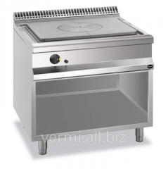 The gas stove with continuous surface 900 Code