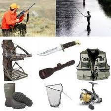 Товары для охоты и рыбалки.