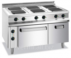 Electric stove of 6 konforochny 900 Code Series