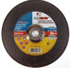 Circle peeling (cleanup) 230х6.0х22 productions