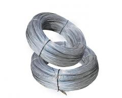 Wire steel zinced with GOST 3282