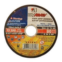 Cutting wheel 400х4.0х22 productions LUGA Abrasive