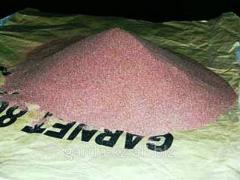 Песок гранатовый абразивный — Garnet Mesh 80