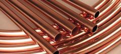 Pipe copper 12х2,0 bay polutverdny state