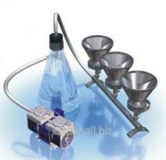 Device of vacuum filtering PVF-47/6N of B