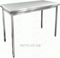 Table corrosion-proof finishing for meat and fish