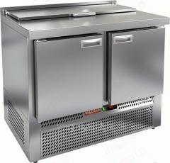 Стол охлаждаемый для салатов саладетта Hicold