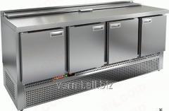 Стол холодильный для салатов саладетта Hicold