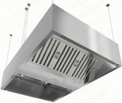 Umbrella exhaust island box-shaped Hicold