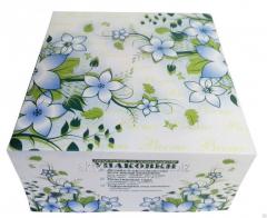 Box for Spring cake, the size 20kh20kh10sm