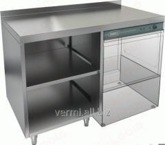 Стол закрытый с трех сторон под посудомоечную