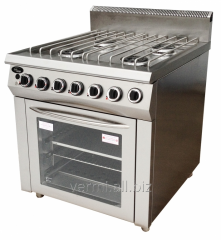 Gas stove 4th gorelochny F4PDG/900 of Grill
