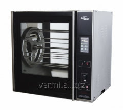 Convection grill for hypermarkets on 40 carcasses