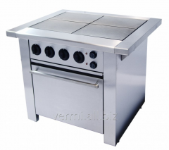 The electric stove with Grill Master F4PDKE/900