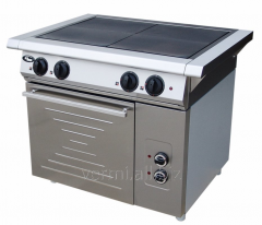 The electric stove with oven f4zhtlpde Grill