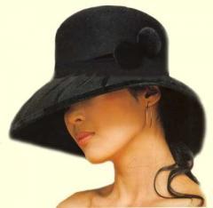 The hat is ladies'
