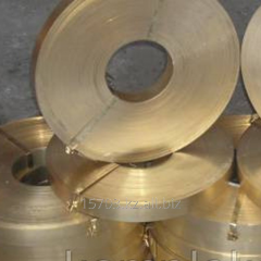 Tape brass L63, 0,5x60 ND DPRIT of GOST 2208,