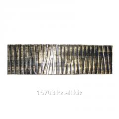 Нащельник 40х3х2100 орнамент кора, артикул 10220