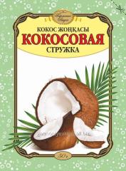 Coconut shavings
