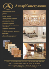 Porcelain granite travertine marble