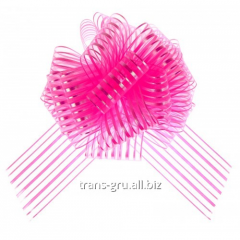 Strip bow sphere No. 10, color bright pink