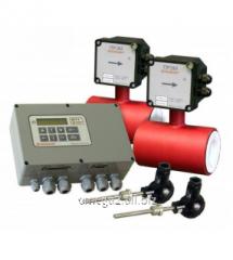 Система учета тепловой энергии с электромагнитными