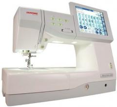 Computer sewing and Janome sewing embroidery