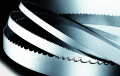 Bimetallic tape saw of Bahco on metal, a code 3861 M42