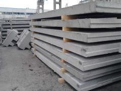 Panels reinforced concrete P6vk